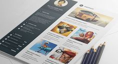 20 Best Free Resume (CV) Templates in Ai, Indesign