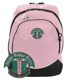Alpha Kappa Alpha Backpack Aka Sorority Gifts, Sorority Life, Black Backpack, Alpha Kappa Alpha Sorority, Sorority And Fraternity, Alpha Kappa Alpha Paraphernalia, Backpacks For Sale, Alpha Female
