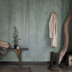 Wallpaper Skog by Sandberg
