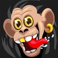 Custom Agar.io Skin Monkey