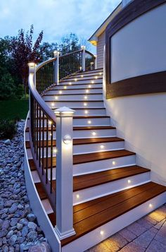 Light for stairs (stairway) ideas, LED, pendant, wainscoting, front porches, rugs, walks, entry ways, balconies, pictures, white trim, stained glass, romantic, frames and night