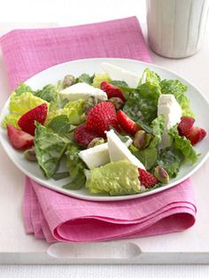 3. Salad- Do you tend to stuff yourself at meals? Control that calorie intake by starting with a large salad (but hold the creamy dressing). Choise a fav low fat-low calorie instead...Bon APPETIT'
