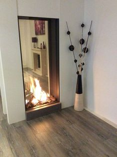 Terrific Photographs Fireplace Remodel concrete Style If a room has a hearth, it's typically the focal point of the room. Update the fireplace with cont Decor, Contemporary Fireplace, Fireplace Design, Kitchen Fireplace, House Interior, Outdoor Fireplace Designs, Indoor Fireplace, Modern Fireplace, Fireplace Decor