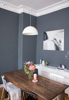 Modernes Haus Blaue Wandfarbe Schlafzimmer Ber 1000 Ideen