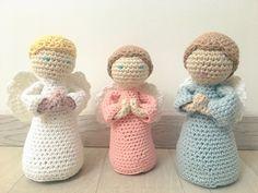 Mon ange et son TUTO - Ness Créative Crochet Angels, Crochet Dolls, Knit Crochet, Crochet Christmas Decorations, Merry Christmas, Sculpture, Knitting, Crafts, Diy