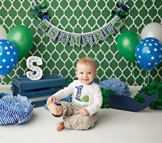 WHALE BANNER / 1st birthday boy / Whale baby shower banner / First birthday boy…