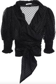 Denim Shop, Coat Dress, Jacket Dress, Wrap Blouse, Ruffle Blouse, Most Popular Shoes, Summer Blouses, Short Tops, Vogue
