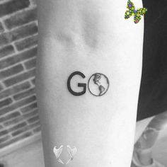 ...Let´s...To The Ends Of The Earth And Back!...<br> Print Tattoos, Earth, Travel, Viajes, Trips, Tourism, Traveling