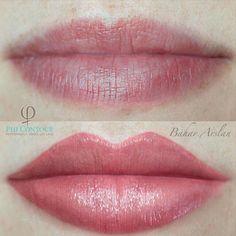 Phicontour-Rubin mit etwas Sand - - The World of Makeup Lip Color Tattoo, Lip Liner Tattoo, Eyebrow Tattoo, Contour Makeup, Lip Makeup, Make Up Beratung, Make Up Artist Ausbildung, Lip Permanent Makeup, Kosmetik Online Shop