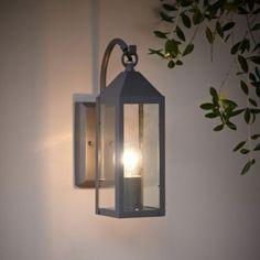 Blooma Capella Charcoal Grey External PIR Lantern