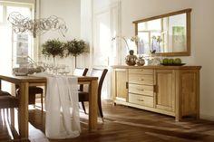 PORTO - dębowe meble klasyczne do salonu i wnętrz stylowych *** TC MEBLE