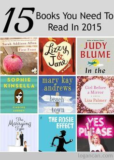 15 Books You Should Read In 2015