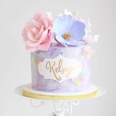 Pastel Purple Cake