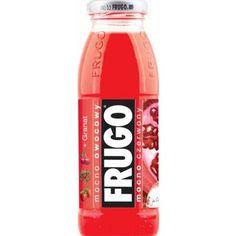 FRUGO Czerwone Napój o smaku truskawkowym z granatem i wiśnią