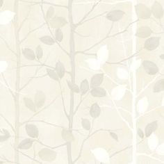 Arthouse Woodland Wallpaper - Pearl
