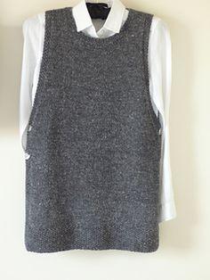 Diy Crafts - Ravelry: Linnea Tunic pattern by Stella Ackroyd Ladies Cardigan Knitting Patterns, Free Knitting Patterns For Women, Knit Vest Pattern, Knitting Designs, Arrow Keys, Close Image, Knit Pillow, Knits, Diy Crafts