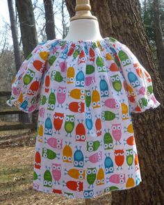 Toddler Tunic  Girls Summer Tunic  Kids Tunic  by BenneboKids, $24.00