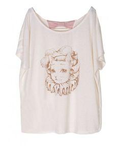 White Short Sleeves T-shirt