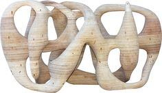 Paulo Laender - PEDRA FURADA - escultura em madeira laminada colada e cavilhada - data 2008 - dim 59 x 76 x 130 cms