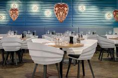 Vita Conia in Aktion - Lampen für Restaurants und Bars.