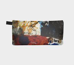 zippered organizer, YKK zipper, key tab, fully lined, sturdy, easy care fabric…