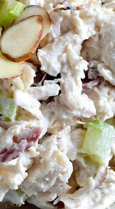 Cranberry Almond Chicken Salad