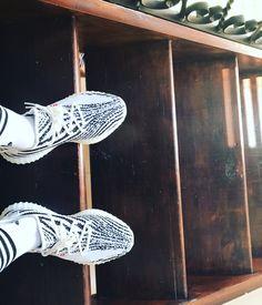 "Adidas Yeezy Boost 350 V2 ""Zebra."" https://tumblr.com/ZnVlHd2OD7f2L Adidas Yeezy V2, 350 V2, Hot Shoes, Yeezy Boost, Tennis Racket, Sneakers Fashion, Fitness Fashion, Shoe Game, Fashion Forward"
