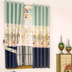 Girls valances vintage floral curtains rate this curtains for baby room ideas curtain teenage girl bedroom Boys Bedroom Curtains, Childrens Curtains, Kids Curtains, Cool Curtains, Colorful Curtains, Window Curtains, Girls Bedroom, Floral Curtains, Elegant Curtains
