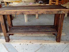 Aparador de madeira de palete