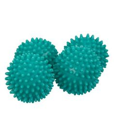 home basics Turquoise Dryer Balls - Set of Four Small Laundry Rooms, Laundry Room Storage, Dryer Balls, Decorative Storage, Turquoise, Crafts, Open Arms, Separates, Plastic