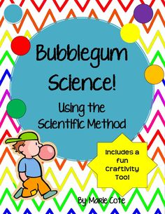 Fun way to practice the steps of the Scientific Method!