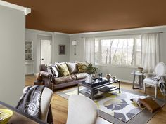 Color Schemes For Living Room By Combining Two Colors White And Gray