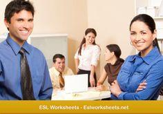 ESL Worksheets - http://www.eslworksheets.net