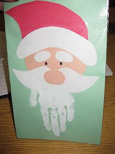 christmas card - could use to make for nursing home patients next year