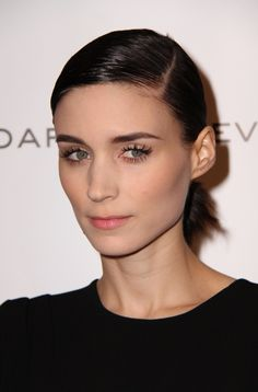 Rooney Mara never gets it wrong! Gorge brow, amazing lashes. Simple classy and elegant bridal makeup inspiration