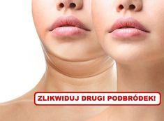 Jak zlikwidować DRUGI PODBRÓDEK? Beauty Tips For Skin, Beauty Hacks, Hair Beauty, Health Fitness, Lol, Smoothie, Sport, Per Diem, Deporte