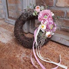 DeKora / Jarný veniec...Ružová jar