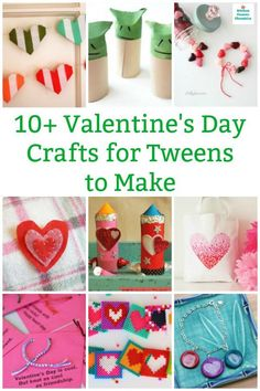 10 More Fabulous Valentine Crafts for Older Kids to Make A fun collection of cool Valentine's Day crafts for tweens and teens to make. A little more challenging Valentine crafts and cards and decorations. Funny Valentine, Roses Valentine, Preschool Valentine Crafts, Valentines Day Activities, Valentines Day Drawing, Valentines Art, Homemade Valentines, Winter Crafts For Kids, Easy Crafts For Kids