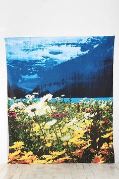 Cool Tapestry!  Wild Mountain Tapestry