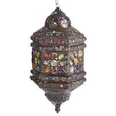 Caravan Gem Hanging Lantern | Pier 1 Imports