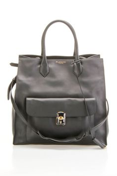 Balenciaga Ladies' Padlock Pocket Tote In Black - Beyond the Rack