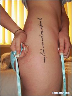 Calligraphy Tattoo Lettering Tattoos