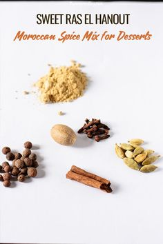 I remixed this spice typically used in savory dishes like curry and came up with this Sweet Ras El Hanout mix that's amazing for sweets and desserts! Egg Free Recipes, Brunch Recipes, Mexican Food Recipes, Real Food Recipes, African Recipes, Ethnic Recipes, West African Food, Moroccan Spices, Ras El Hanout
