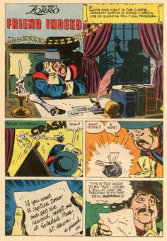 The ALEX TOTH archives: TOTH - ZORRO 12, December 1960