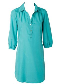 Claire Shirt Dress - xl