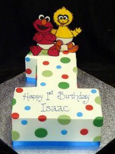 Birthday Cakes Center: 1st Birthday Cake