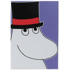 Moomin Card: Moomin Pappa