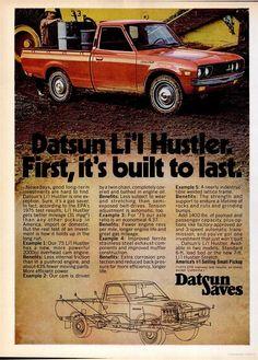 1985 Nissan King Cab Truck Classic Advertisement Ad B-5