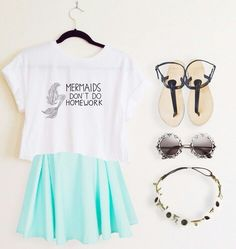 Everyday New Fashion: Famous Summer Outfits