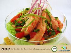 An all time favorite and it´s perfect for a tasty lunch or dinner! #Cocktail #Shrimp #LaCocoteraEcoResort